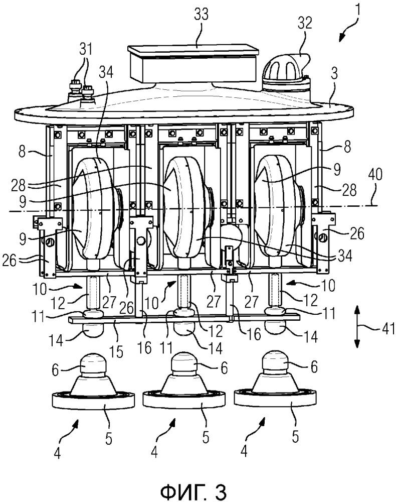 Газоизолированный измерительный преобразователь, имеющий размыкающее устройство