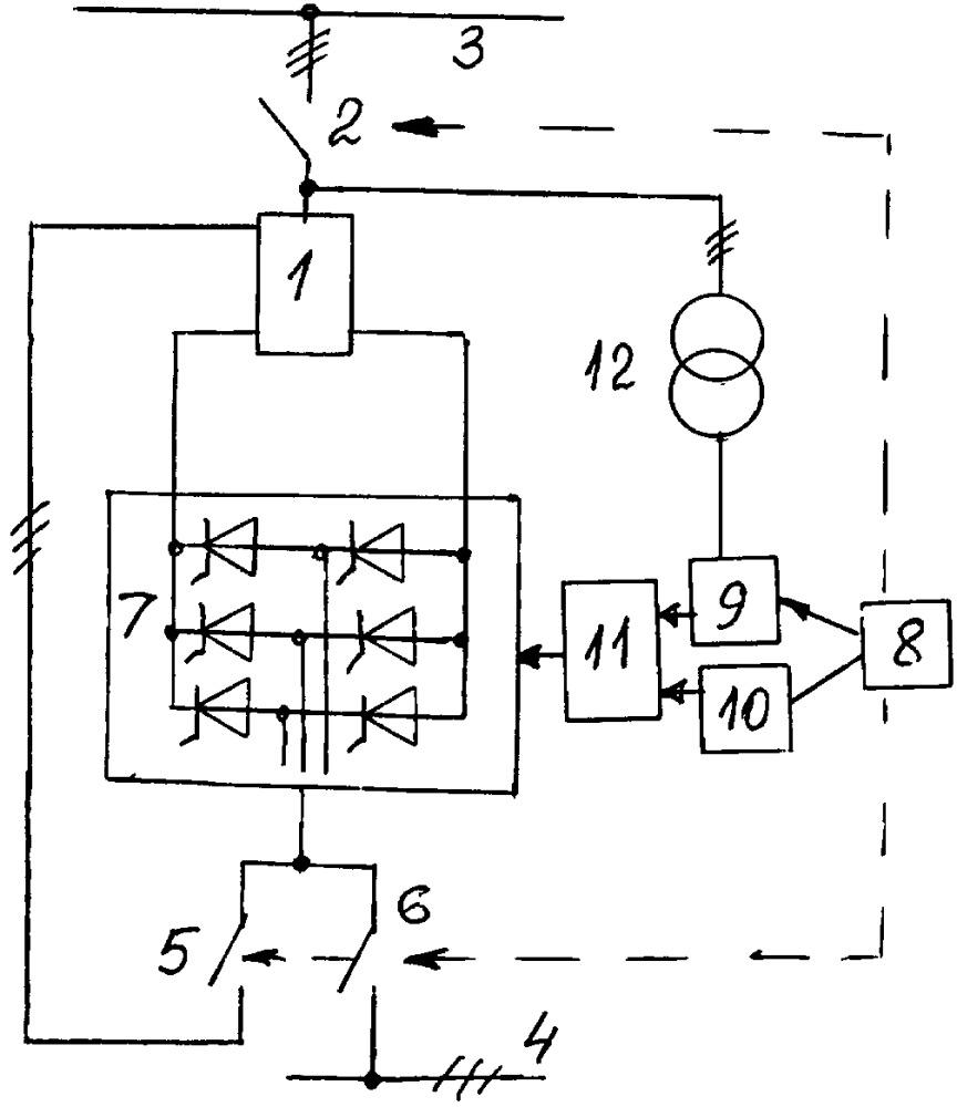 Способ коммутации управляемого шунтирующего реактора