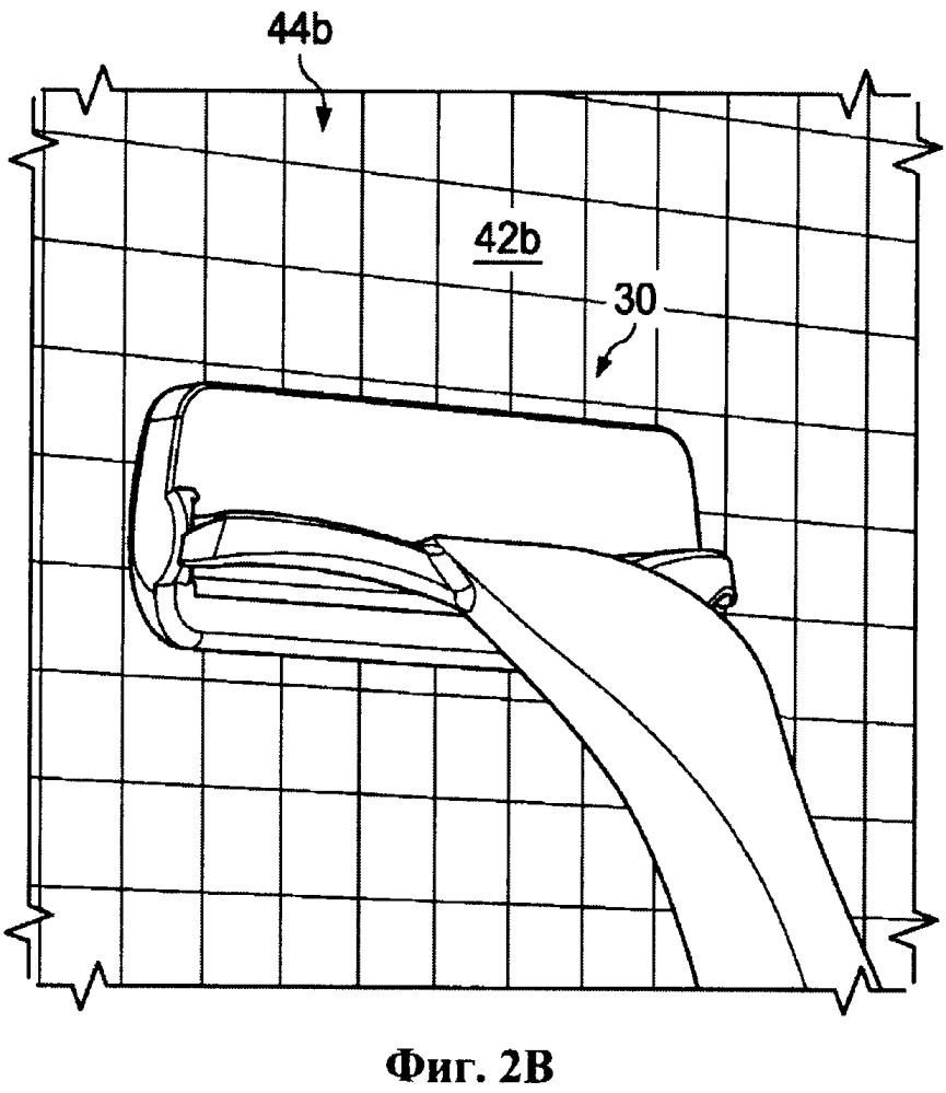 Способ демонстрации работы бритвенного прибора
