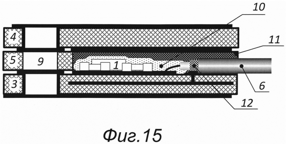 Датчик с микроэлектронным первичным измерительным преобразователем инерционного типа
