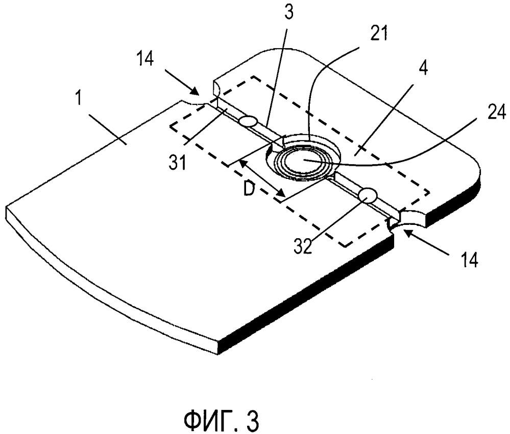 Конструкция рабочей зоны картриджа для проведения полимеразной цепной реакции