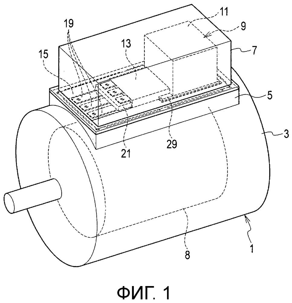 Механическим и электрическим образом объединенная электрическая вращающаяся установка