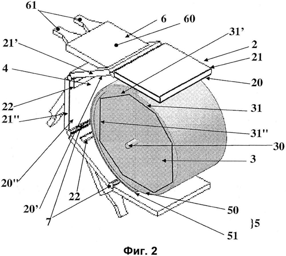 Устройство для термической обработки продуктов посредством микроволн и способ термической обработки с использованием такого устройства