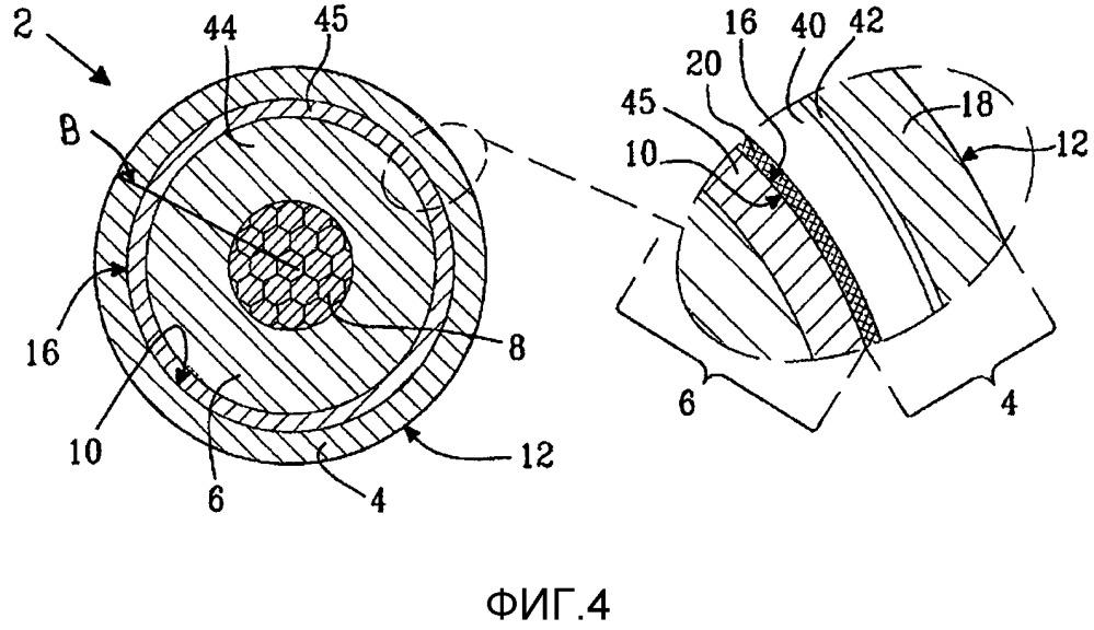 Самоподдерживающийся кабель и комбинация, содержащая устройство подвеса и такой самоподдерживающийся кабель