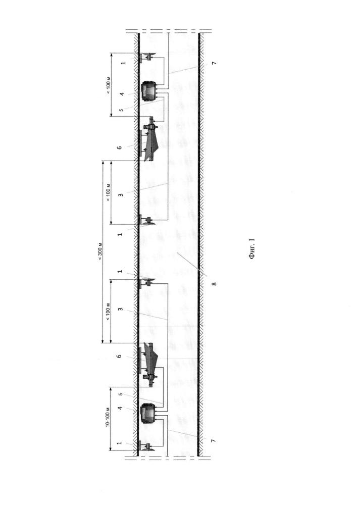 Многофункциональная автоматическая система локализации взрывов пылегазовоздушных смесей в подземных горных выработках и входящие в нее устройства локализации взрывов