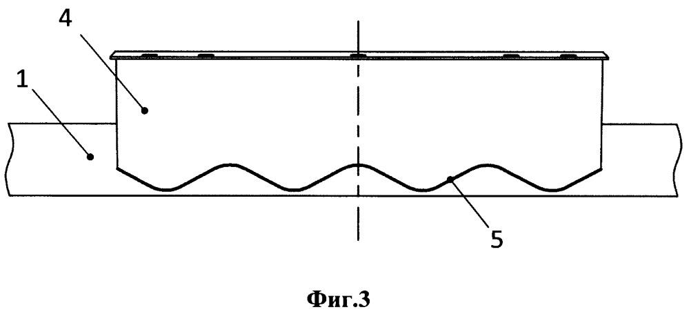Труба для распределения горячего воздуха по кромке носка воздухозаборника