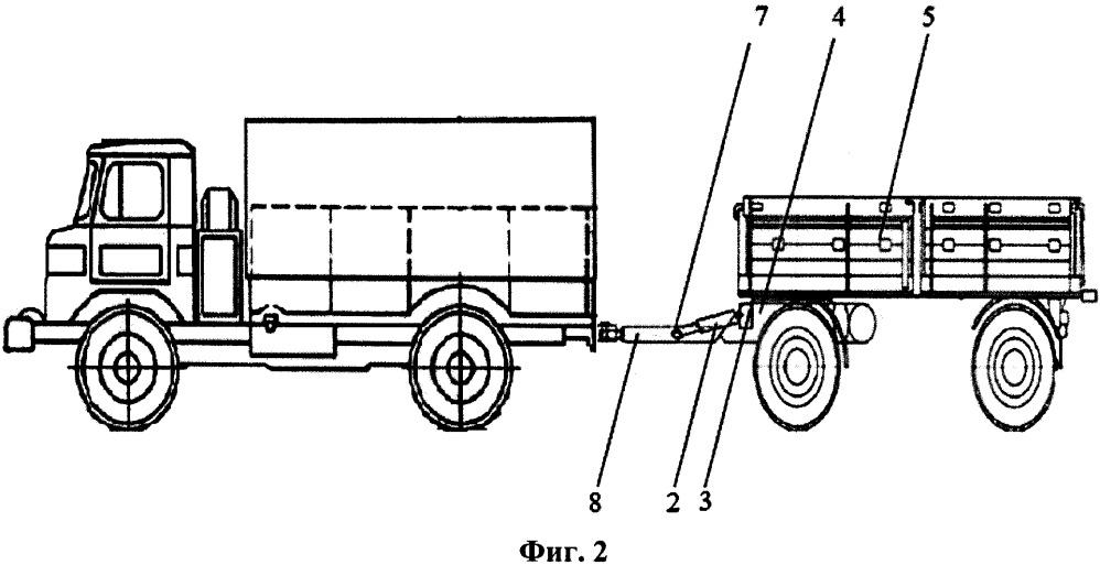 Корректор сцепного веса автопоезда
