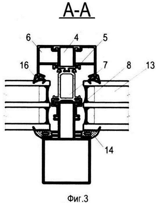 Система утепления стоечно-ригельного остекления балконов и способ ее установки