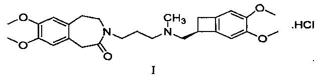S-кристаллическая форма хлористоводородного ивабрадина, способ ее получения и фармацевтическая композиция на основе этой формы