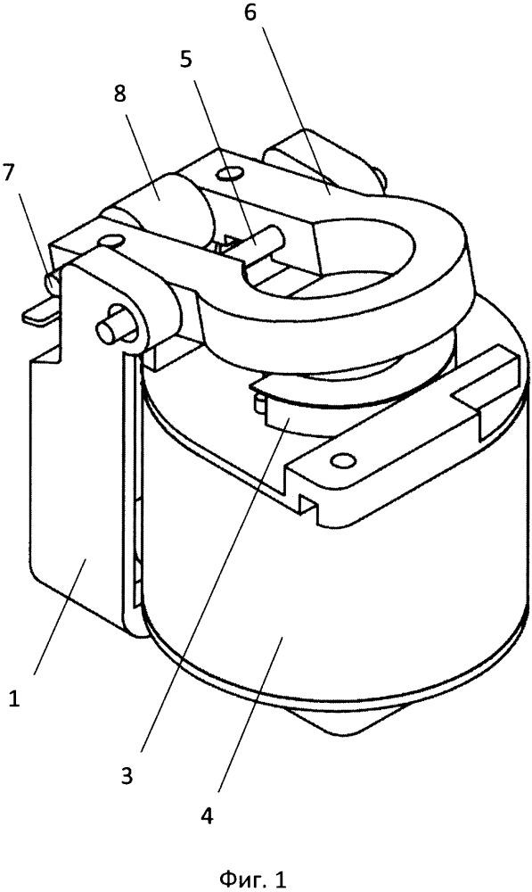 Исполнительный электромагнит автоматического выключателя