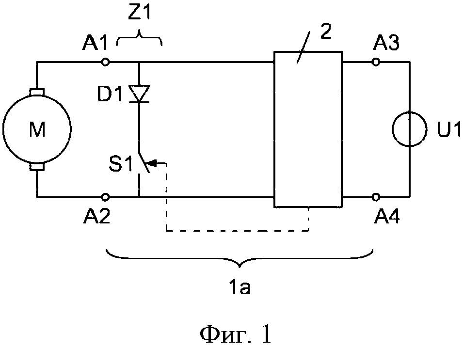 Электронная схема надежного закрывания моторно-приводной двери рельсового транспортного средства