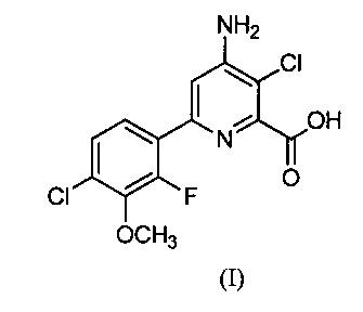 Гербицидные композиции пиридин-2-карбоновой кислоты и ингибиторов акк