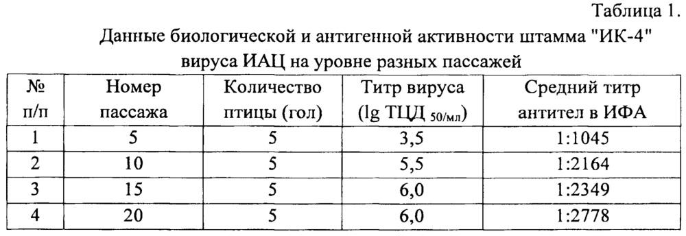 Штамм ик-4 вируса инфекционной анемии цыплят