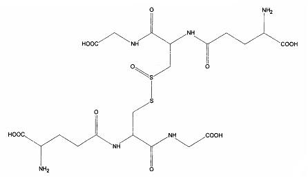 Фармацевтическая композиция, включающая дисульфид глутатиона и глутатион дисульфид s-оксид