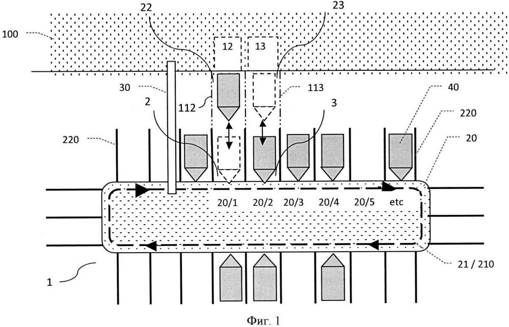 Система и способ удержания лодок, находящихся на плаву в водоеме, после их спуска и/или перед их подъемом