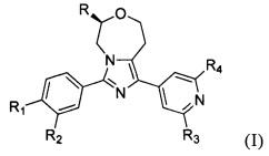 Тетрагидроимидазо[1,5-d][1,4]оксазепиновое производное