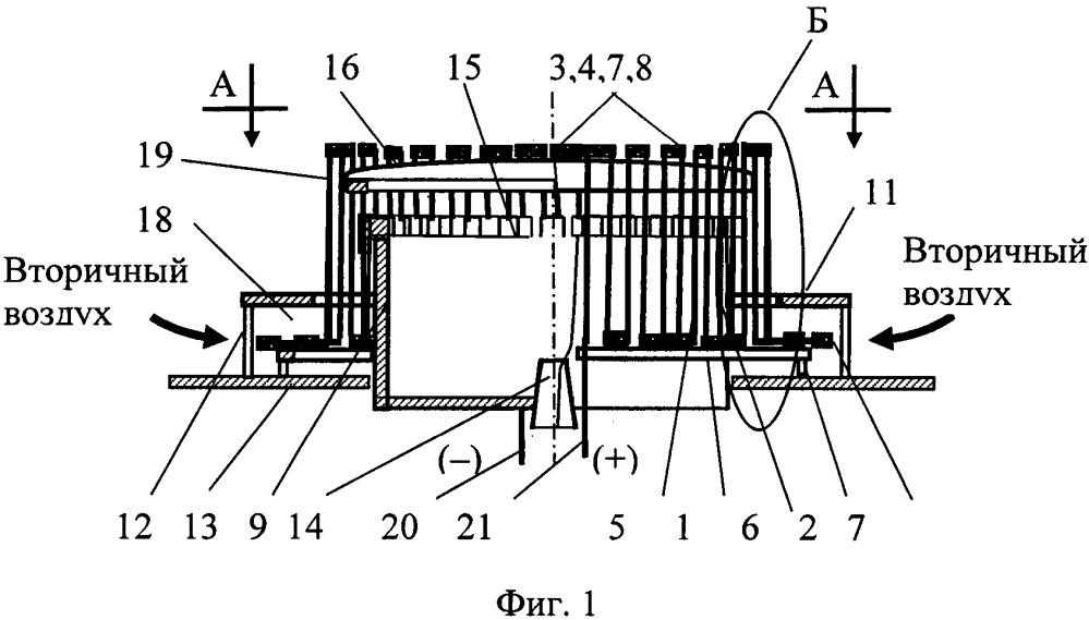 Термоэлектрическая инжекционная горелка