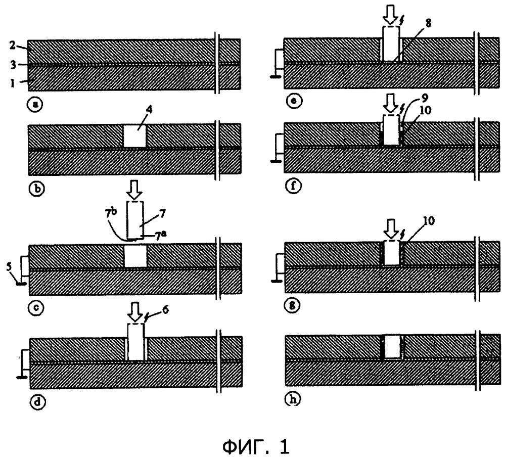 Способ изготовления слоистой конструкционной панели