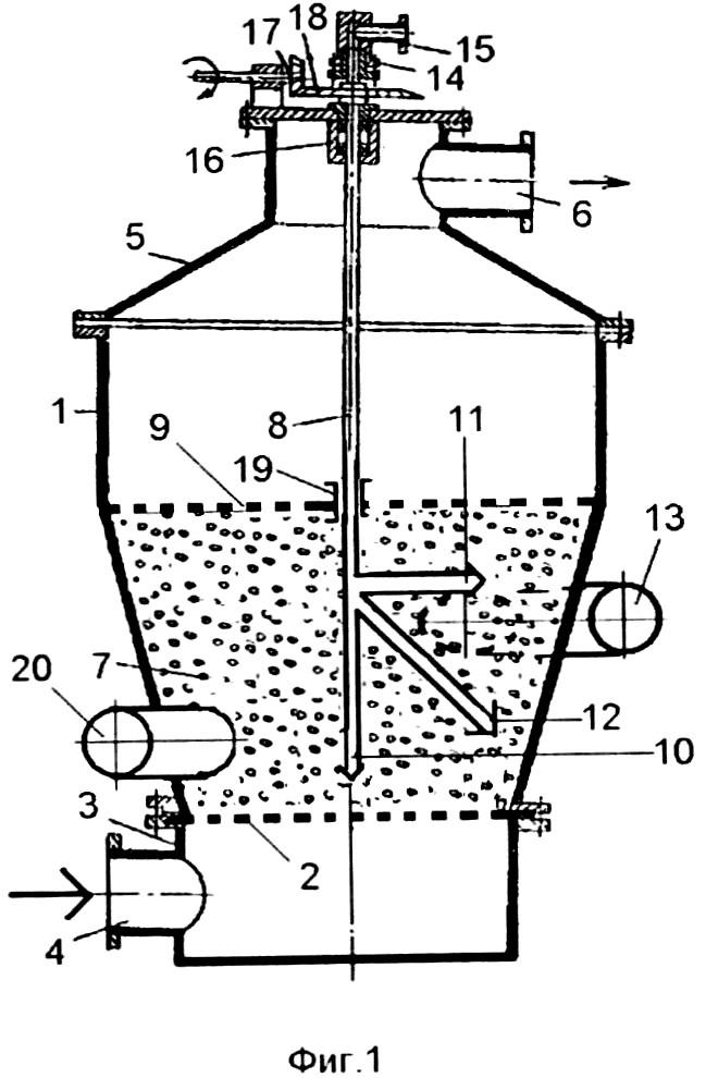 Установка для сушки диспергированных материалов