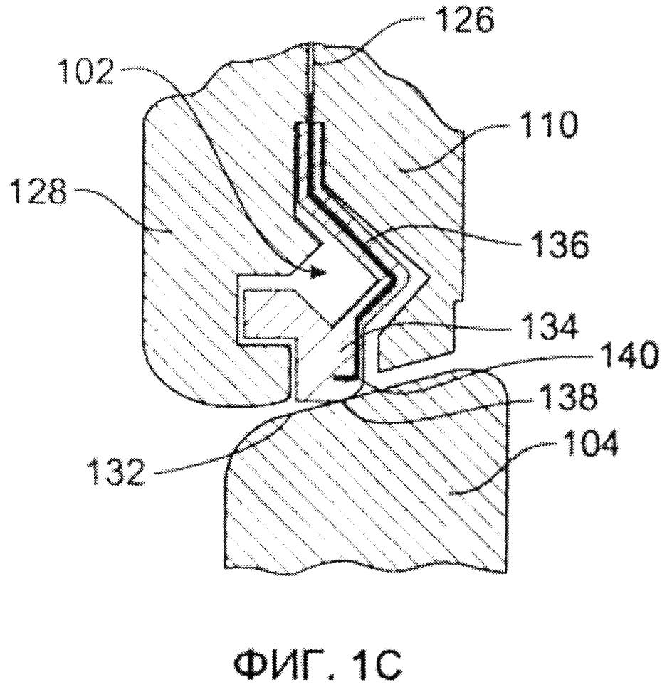 Высокотемпературные уплотнения для использования в поворотных клапанах