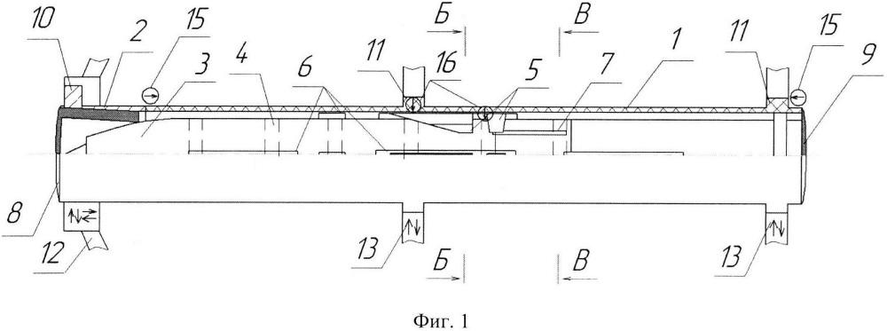 Ракета в транспортно-пусковом контейнере