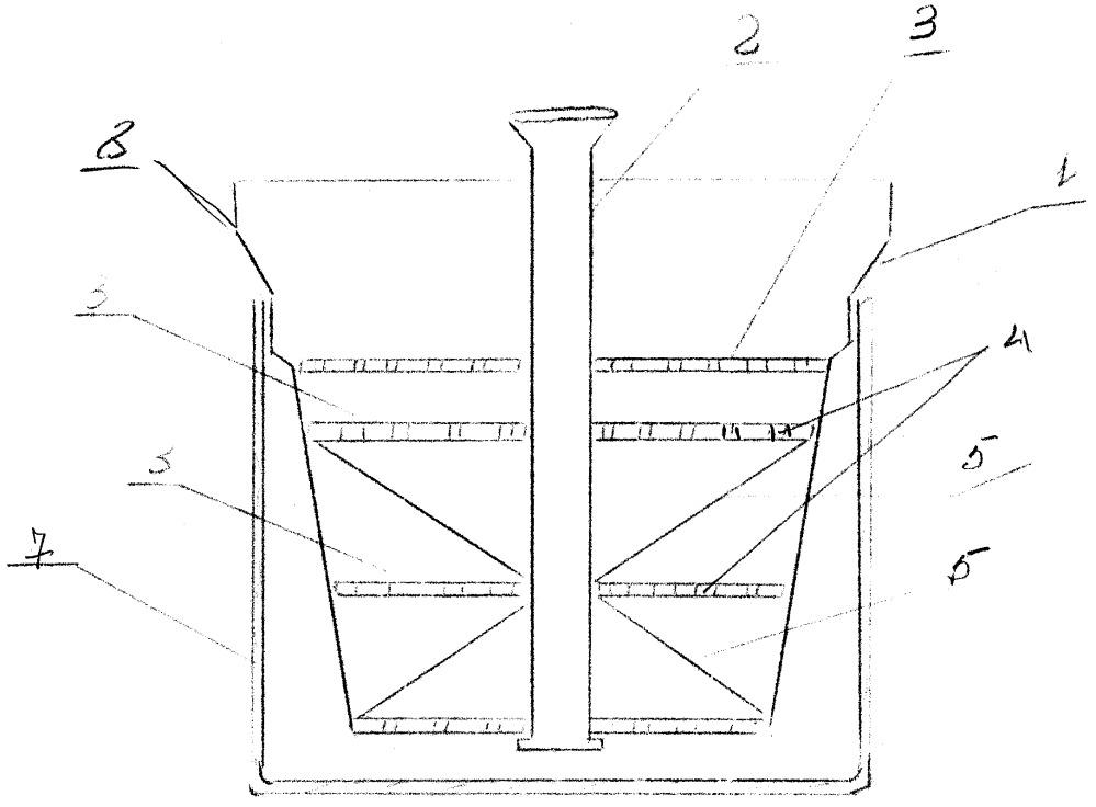 Прибор халикова х. для предотвращения утечки кипящей жидкости и пены через край из кофеварки и турки