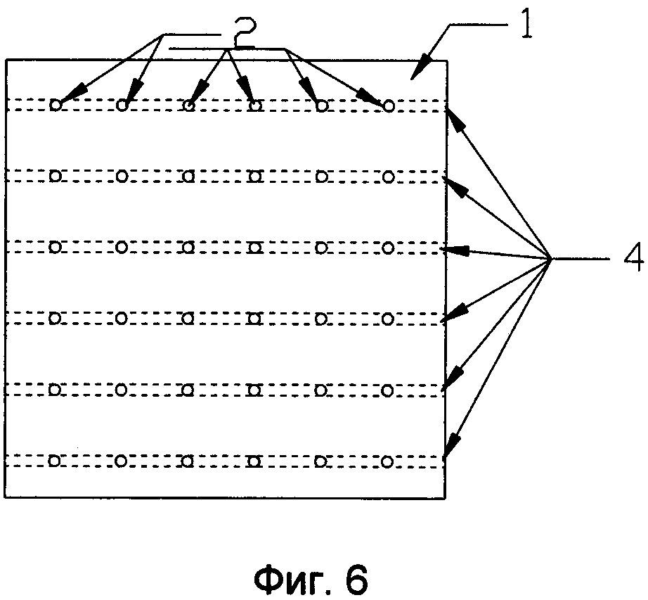 Продувочный элемент, составной продувочный блок и способ изготовления составного продувочного блока
