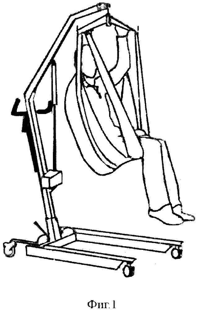 Медицинский подъёмник-перемещатель пациента