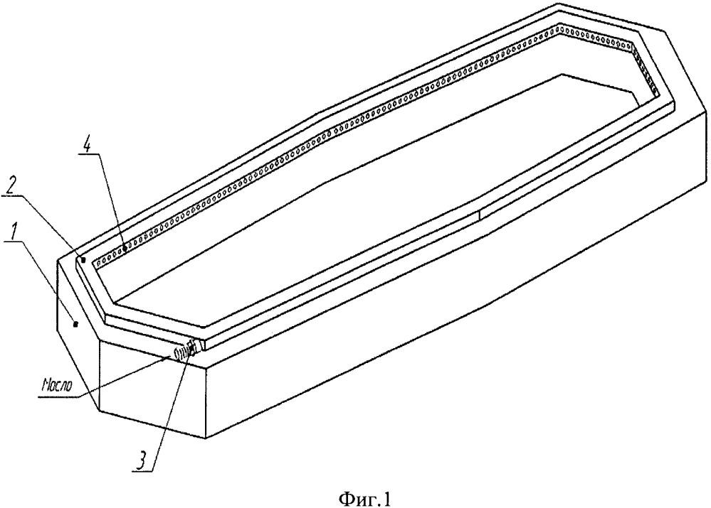 Кристаллизатор для литья алюминиевых слитков