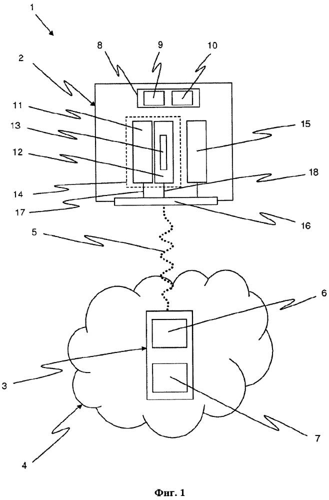 Устройство ввода/вывода данных и система связи