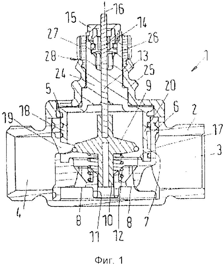 Клапан, в частности клапан теплообменника