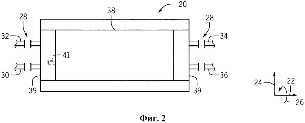 Система улучшенной передачи давления в трубопроводе в системе обмена давления