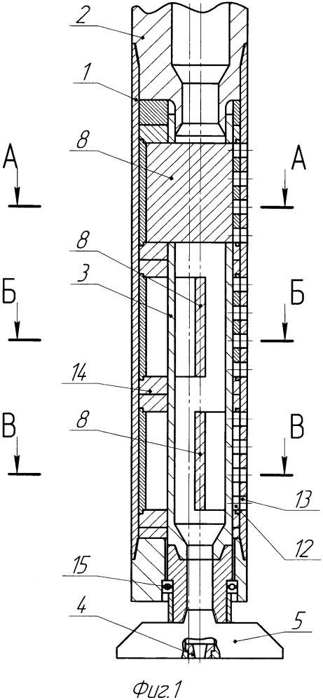 Гидравлический забойный двигатель иоаннесяна