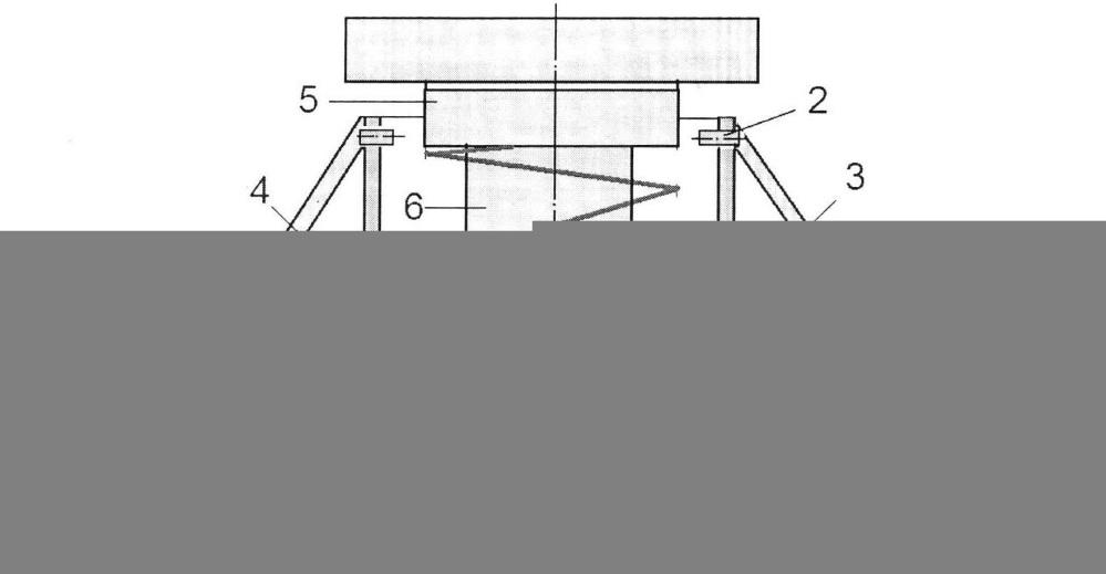 Виброизолятор пространственный шарнирного типа