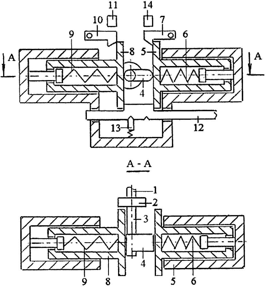 Способ управления переключением передач в коробке переключения передач магнитно-жидкостной муфтой сцепления и пружинным переключателем передач