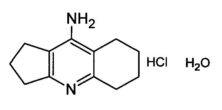 Способ получения 9-амино-2,3,5,6,7,8-гексагидро-1н-циклопента[b]хинолина хлоргидрата, гидрата
