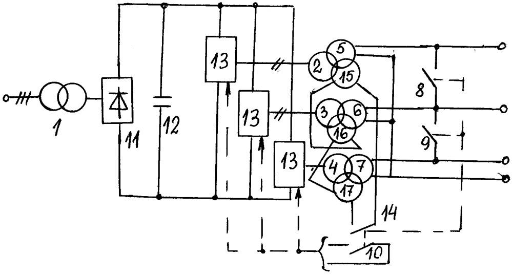 Преобразователь частоты для испытания трансформаторов