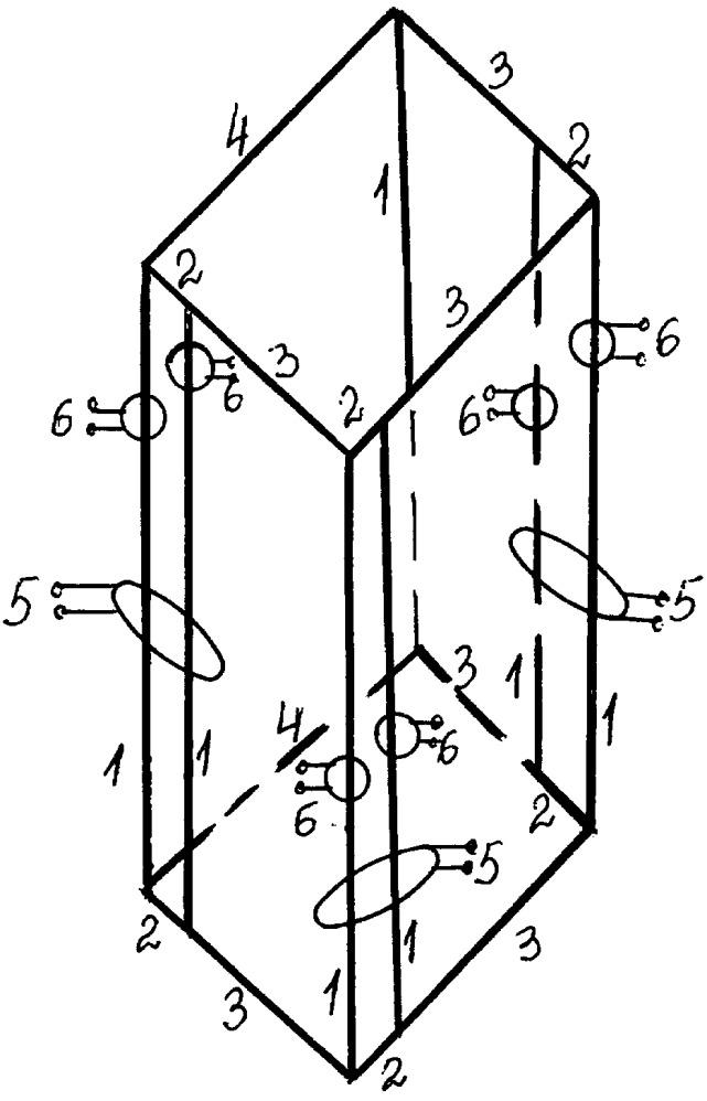 Семистержневой трехфазный подмагничиваемый реактор