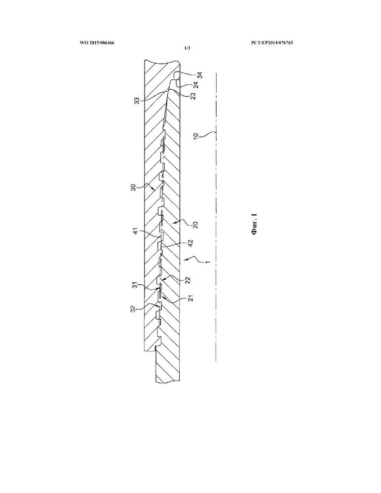 Узел для образования резьбового соединения для бурения и эксплуатации углеводородных скважин и полученное в результате резьбовое соединение
