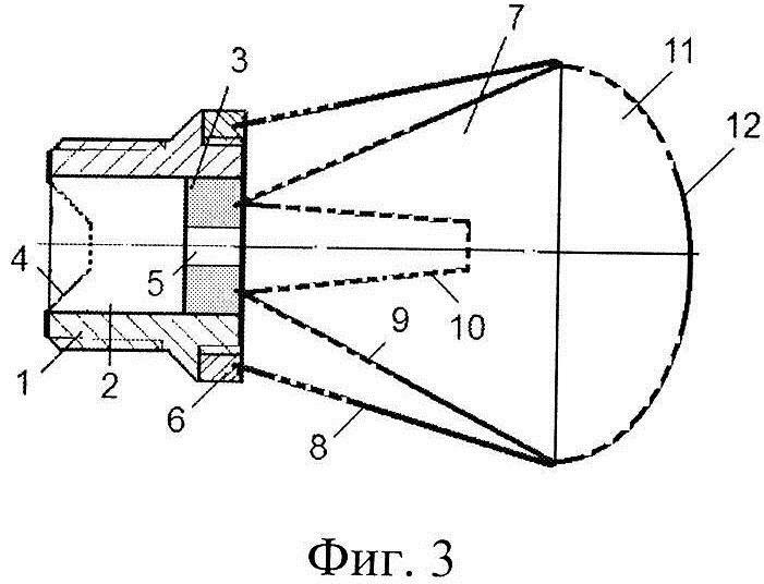 Рассекатель потока жидкости эжекционного типа для форсунки