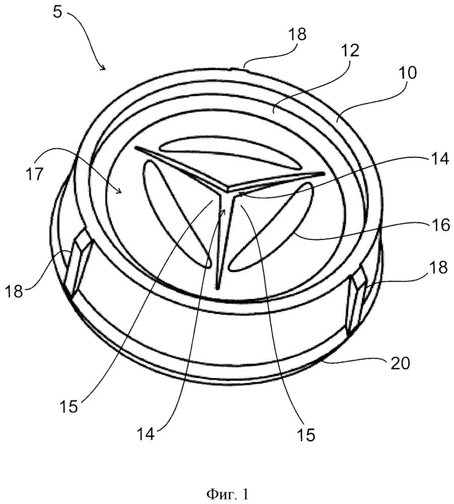 Клапанный укупорочный элемент, укупорочная крышка, содержащая клапанный укупорочный элемент, и способ и устройство для изготовления клапанного укупорочного элемента