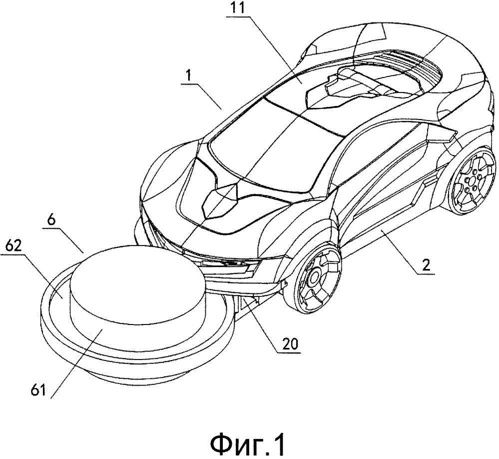Переворачивающееся и трансформирующееся игрушечное транспортное средство, выполненное с возможностью захвата игрушек