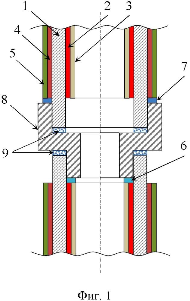 Способ соединения трубчатых топливных элементов