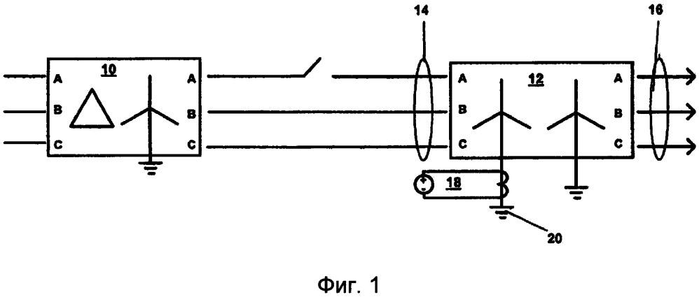Способ обнаружения состояния обрыва фазы трансформатора