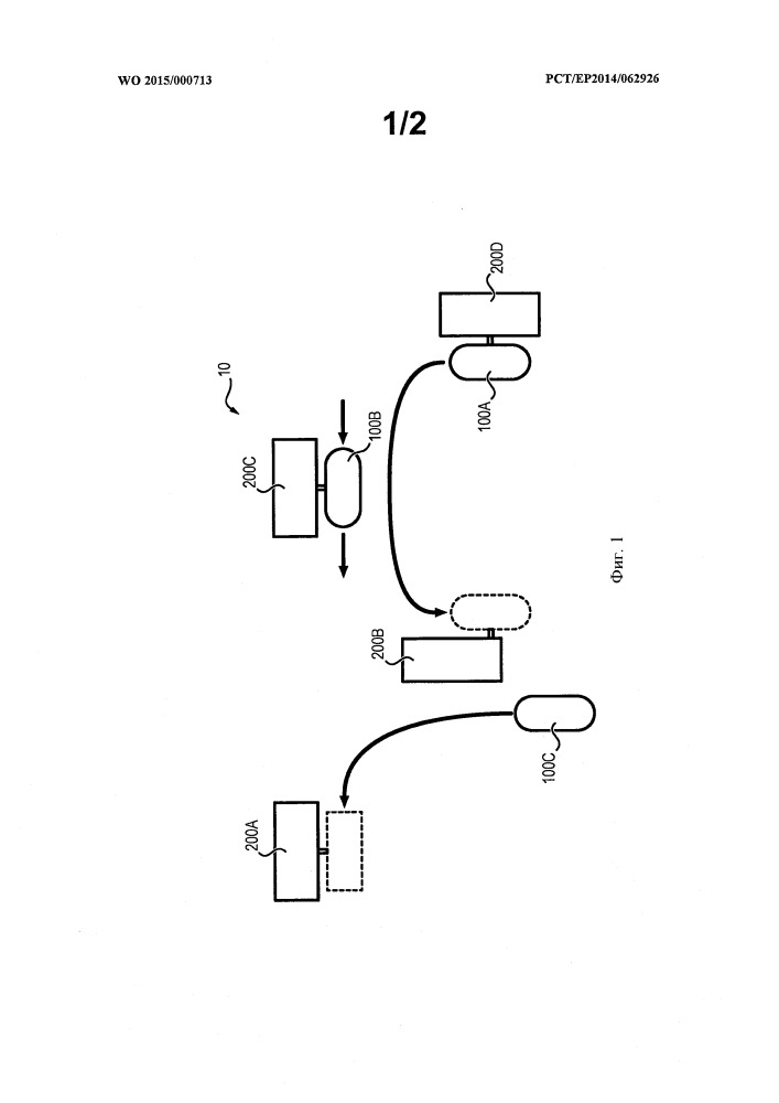 Электрическое транспортное средство и соответствующая транспортная система