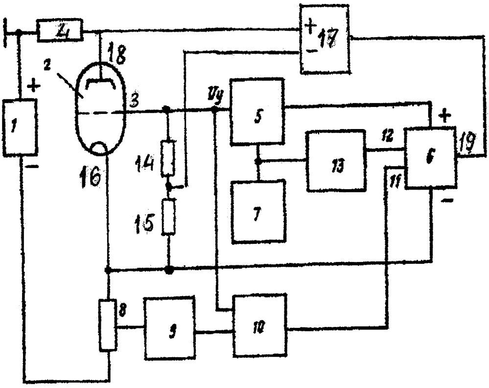 Устройство для управления электронно-лучевым вентилем