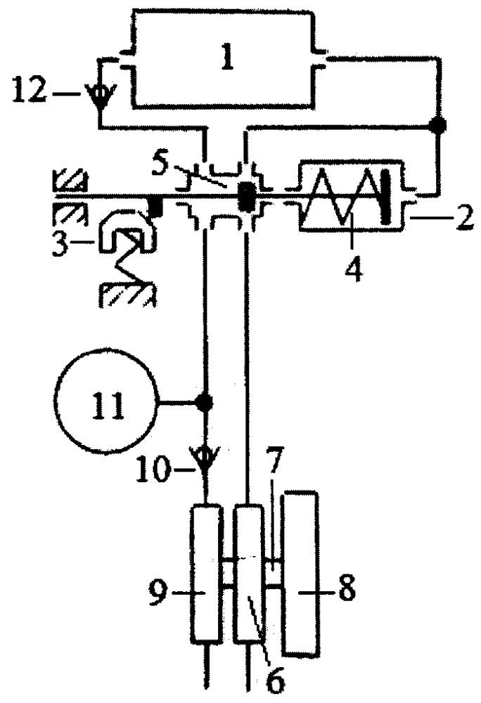 Способ управления газораспределительным клапаном тепловой машины внешнего сгорания