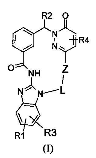 Макроциклические производные пиридазинона