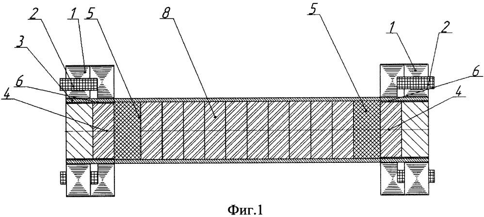 Гомополярный магнитный подшипник для высокоскоростных электрических машин