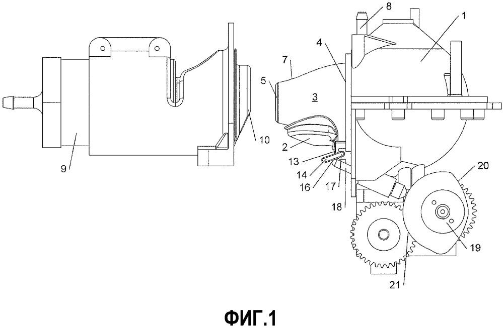 Устройство для приготовления заварных напитков, содержащее трубку подачи, ведущую в заварочную камеру